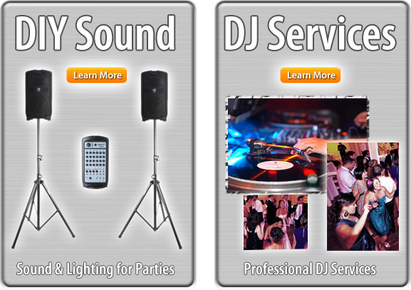 DJ Sound and Light Options