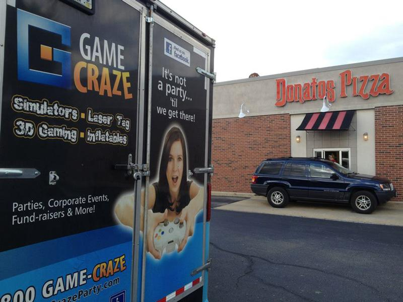 Game Truck and Pizza