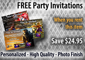 Free Personalized Party Invitations