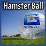 Human Hamster Ball Races