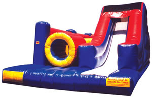 Obstacle Course Slide Combo