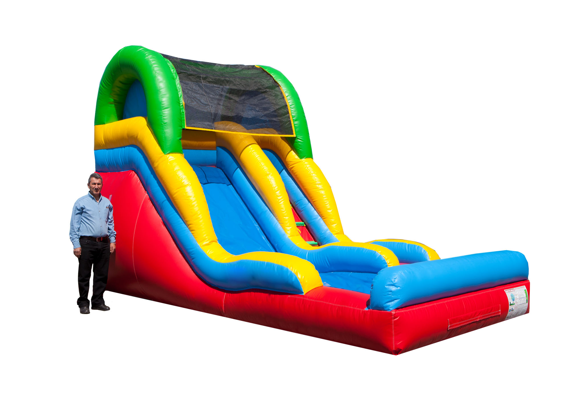 15 foot inflatable slide