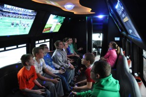 Video Game Party Bus